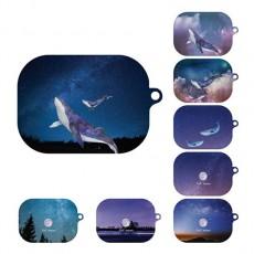 [폰바이] 고래와 풀문 디자인 에어팟 프로 하드 케이스 아이폰8액정수리쿠폰